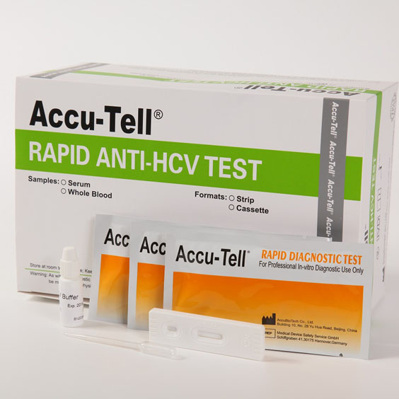 HCV Whole Blood Test Cassette