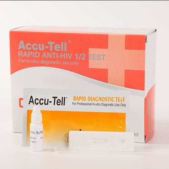 Anti-HIV1/2 Whole Blood Strip/Cassette