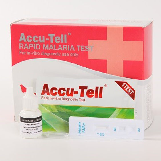 Malaria P.f. /P.v. Test Cassette