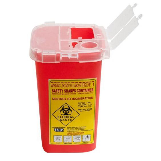 Sharp Container, 1 Liter