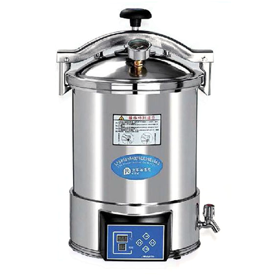 24 Liter, Autoclave Sterilizer with Timer