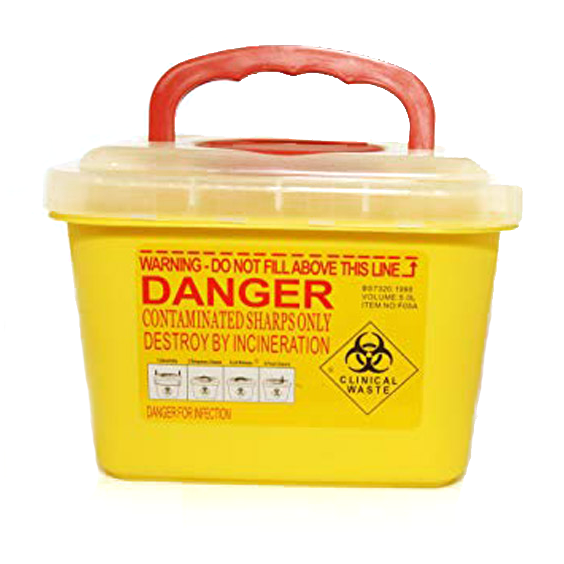 Sharp Container, 5 Liter