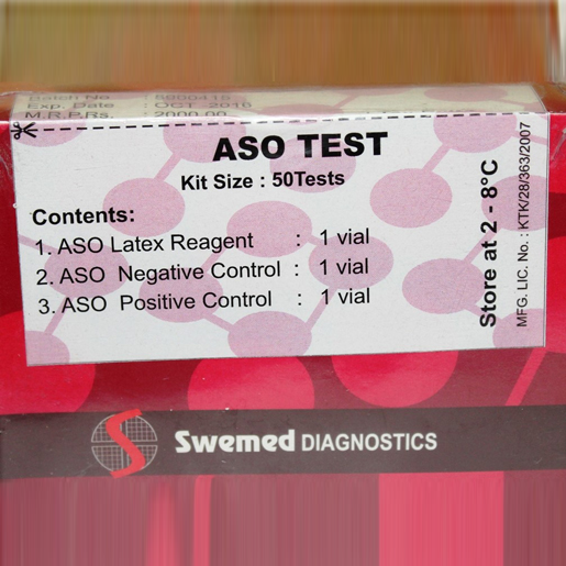 ASO Latex Agglutination Test