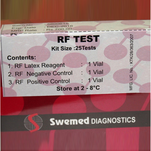 RF/RA Latex Agglutination Test