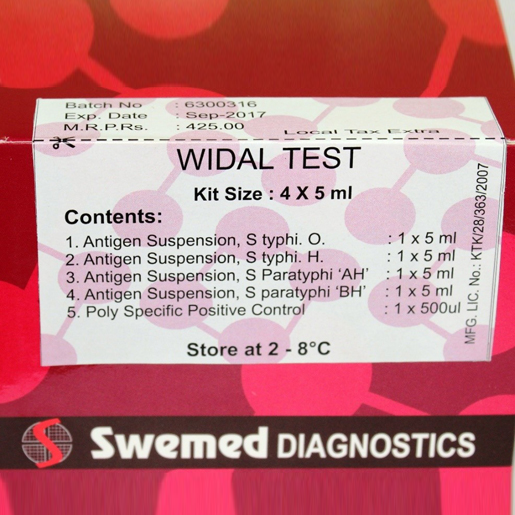 Widal Test/Stained Widal Antigen